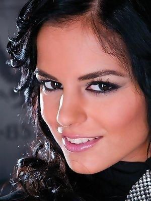 She is a glamorous hot girl...