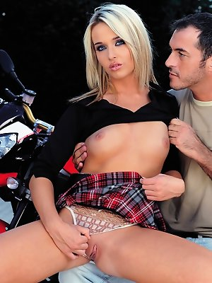 Teen sluts in a tiny skirts...