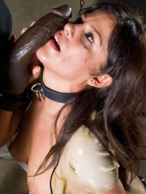 Chick gets creampied in the...